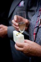 Etiquette de mariage pour le meilleur homme Toasts