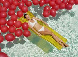 Comment peser vers le bas Ballons dans les piscines