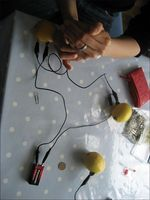 Comment faire un Out batterie d'un citron