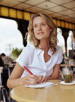 Comment écrire lettre de remerciement Cartes de note