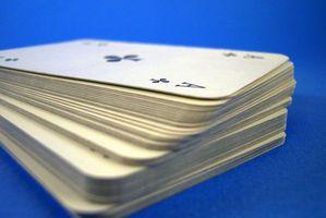 """Règles pour la """"Frustration"""" Jeu de cartes"""