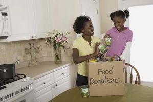 Idées de bénévolat pour un enfant