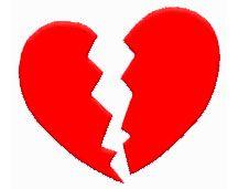 Les signes d'un coeur brisé