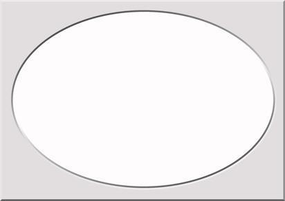 Comment dessiner une forme parfaite ovale