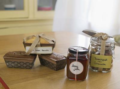 Cadeaux faits maison en verre Jars