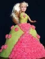 Indications pour faire un gâteau Barbie Dress