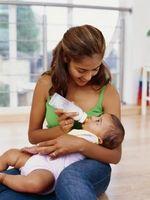 Comment obtenir les bulles d'air de la bouteille d'un nourrisson