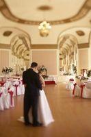 Quel type d'éclairage est utilisé pour Réceptions de mariage?