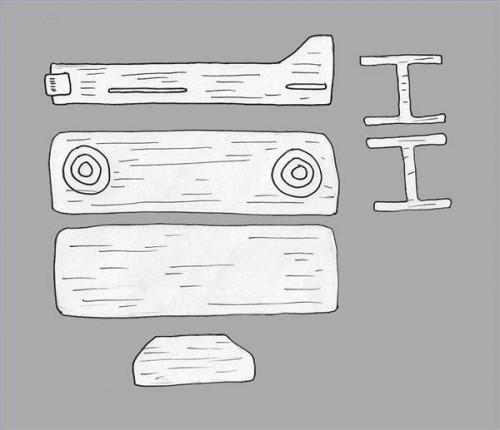 Comment construire des avions en bois de balsa Modèle