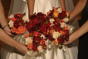 Trois-Color Combo idées pour un mariage d'automne