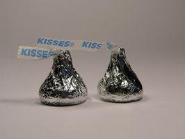 Idées pour Comment faire de Noël Ange Crafts Avec Hershey Kisses