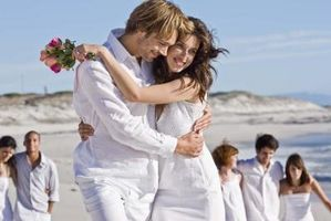 Plage Ideas Thème de mariage et décorations