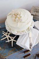 Mariage Tropical gâteau Décorations