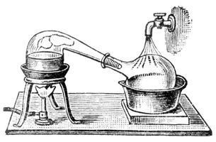 Processus de Distillation des esprits
