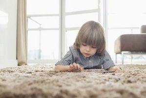 Tapis non toxiques pour les chambres d'enfants