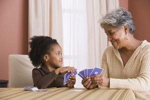Jeux de cartes pour enfants Vs. un adulte