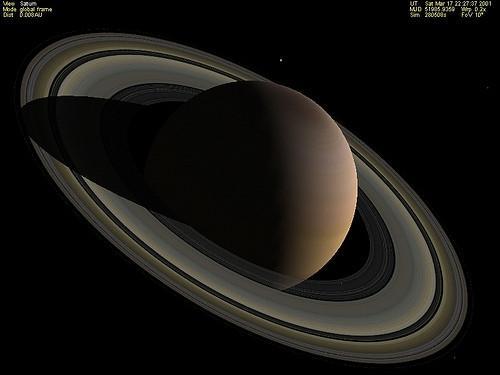 Qu'est-ce que l'atmosphère de Saturne?