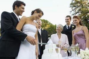 Les entreprises qui gravent mariage Sets Cake