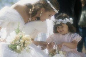 Qu'est-ce qu'une petite fille dans le Parti pour la mariée Porter?