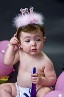 Idées d'invitation pour le 1er anniversaire d'une fille