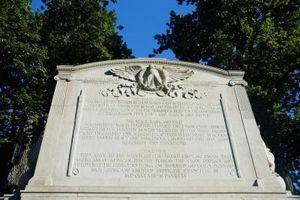 Mots plaque commémorative