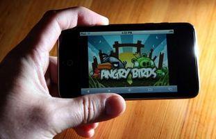 """Comment Appuyez sur l'écran dans """"Angry Birds"""""""