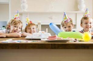 Fournitures et Jeux Sleepover d'anniversaire