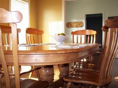 Comment dessiner une table de salle à manger