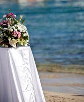 Idées pour le mariage en plein air Décorations de table