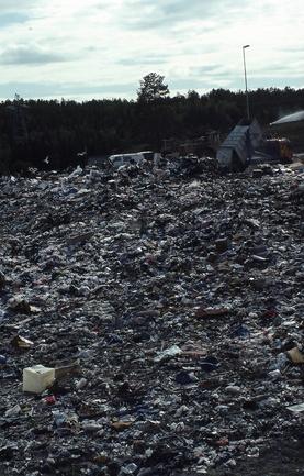 Solides problèmes d'élimination des déchets