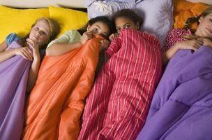 Jeux à faire à un Sleepover Birthday Party pour les adolescents