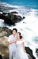 Cadeaux pour un mariage par l'océan