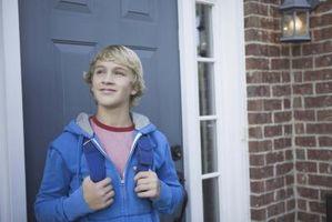 Les causes de l'absence d'un garçon de l'adolescence de l'énergie