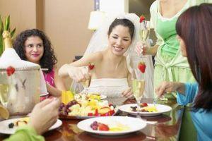 Liste des aliments de mariage