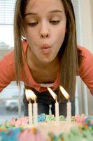 Places d'amusement pour l'anniversaire d'une fille Middle School