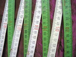 Mesures: Comment changer Mètres en Pieds