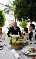 Prières de mariage non confessionnel avant le dîner