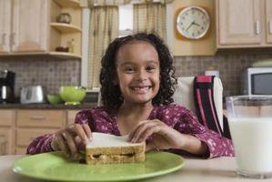 Repas que les enfants mangent