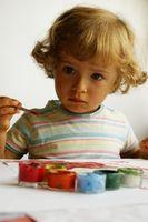 Idées pour les enfants à utiliser Tempera Paint