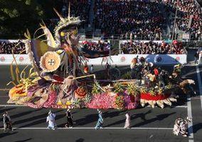 Comment est-Float Rose Parade Made?