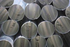 Dimensions des tuyaux en acier au carbone