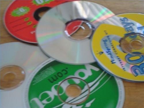 Comment faire un jeu de dames géant Avec vieux CD