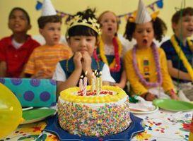 Comment photographier un gâteau d'anniversaire avec bougies