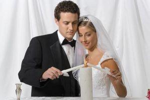 Comment faire Unity Bougies pour un mariage