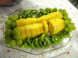 Comment faire un plateau de fruits pour un mariage