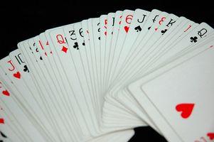 Règles pour 2 Hearts Man Game Card