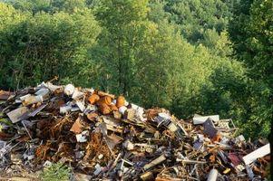 Méthodes d'élimination des déchets ménagers