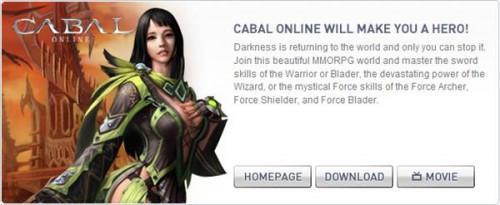 Comment enregistrer Cabal Online