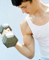 Exercices d'haltères pour les adolescents