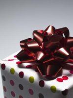 Première année Dating Cadeaux d'anniversaire